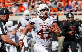 Texas Tight End Andrew Beck Scoring Against Oklahoma State In 2016 Missed All Of