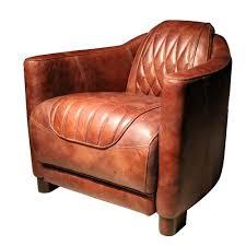 casa padrino echtleder wohnzimmer sessel vintage braun 73 x 85 x h 72 cm luxus kollektion