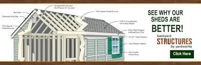 Amish Built Storage Sheds Illinois by Backyard Structures U2013 Sheds Gazebos And Poolhouses Nj