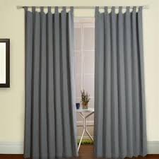Thermal Lined Curtains Australia by Cheap Tab Curtains Basic Solid Tab Top Thermal Insulated Blackout