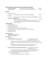 Resume Skills Computer Additional Sample For Hardware Professional