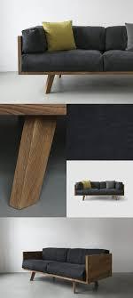 nutsandwoods oak linen sofa möbel selber bauen sofa