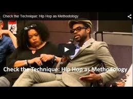 Check The Technique Hip Hop As Methodology