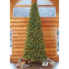 Black Slim Christmas Tree Pre Lit by 15 U0027 Pre Lit Artificial Christmas Tree