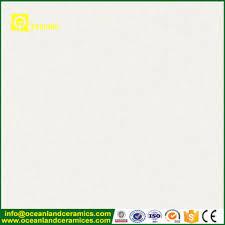 high gloss white waterproof homogeneous unglazed ceramic floor