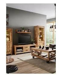 wohnzimmermöbel set massiv holz ebay
