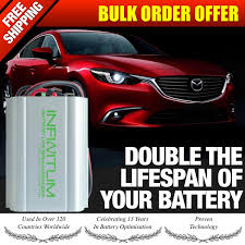 12V INFINITUM Battery Life Saver Desulfator Optimizer