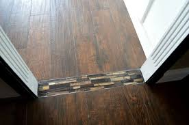 Laminate Floor Transitions To Tiles by Mosaic Tile Floor Transition Hometalk