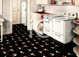 Royalty Free Clipart Image Late 1940s Kitchen