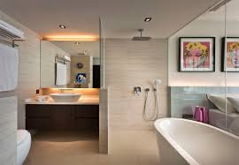 Open Concept Bathroom Ideas | SquareRooms Fancy Mid Century Modern Bathroom Layout Design Ideas 21 Small Decorating Bathroom Ideas Small Decorating On A Budget Singapore Bathrooms 25 Best Luxe With Master Style Board Lynzy Co Accsories Slate Tile Black Trim Home Unique Mirror The Newest Awesome 20 Colorful That Will Inspire You To Go Bold Better Homes Gardens