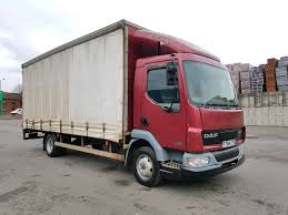 100 20 Ft Truck DAF FA LF45 170 6 SPEED MANUAL FT CURTAINSIDE WITH TAIL