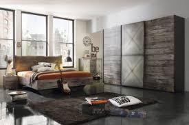 rauch timberstyle schlafzimmer set graphit front sunwood schwebetürenschrank 300 cm bett 160x200 cm nachttisch