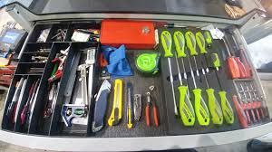 99 Truck Tools Toolbox Tour 22 Year Old Service Truck Production Technician