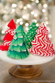 Fabric Christmas Craft Idea Diy Tree Party