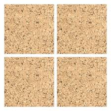 pinboard self adhesive cork wall tilescork covering uk board