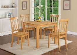 Solid Wood Kitchen Table 4 Chairs • Kitchen Tables Design