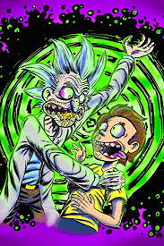 Rick And Morty Acid Poster 24x36