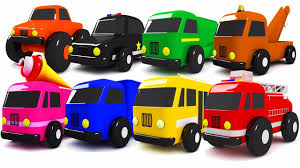 100 Toddler Fire Truck Videos Colors For Children To Learn With Street Vehicles S Cars