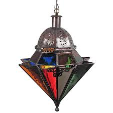 Mexican Punched Tin Lamp Shades by Mexican Hanging Lights And Ceiling Fixtures Handcrafted Rustic