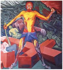 Jose Clemente Orozco Murals by Panel 13 Cortez And The Cross Orozco The Epic Of American