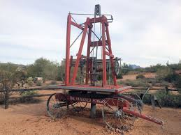 Powers Well Drilling Machine   Superstition Mountain – Lost Dutchman ... Drilling Contractors Soldotha Ak Smith Well Inc 169467_106309825592_39052793260154_o Simco Water Equipment Stock Photos Truck Mounted Rig In India Buy Used Capital New Hampshires Treatment Professionals Arcadia Barter Store Category Repairing Svce Filewell Drilling Truck Preparing To Set Up For Livestock Well Repairs Greater Minneapolis Area Bohn Faqs About Wells Partridge Cheap Diy Find Dak Service Pump