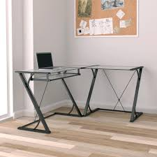 Black Writing Desk With Hutch by Desks Home Office Furniture The Home Depot