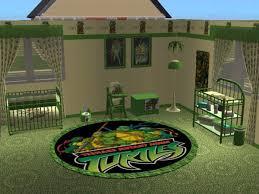 mod the sims teenage mutant ninja turtles nursery and bedroom