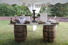 A Gogo Event And Party Tent Rentals Provides Rustic Wedding Decoration For Cincinnati Ohio Northern KY