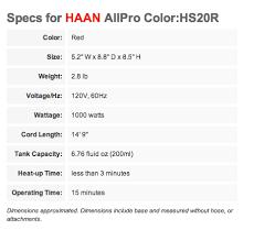 Haan Floor Steamer Instruction Manual by Haan Hs 20 Deluxe Hand Held Steam