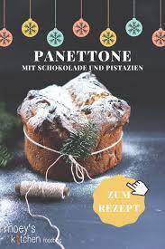 schokoladen pistazien panettone