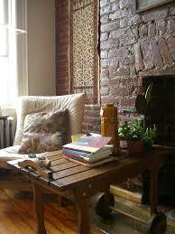 InteriorModern Rustic Chic Home Interior Decorating Ideas Sharp Apartment Decor With Brick Stone