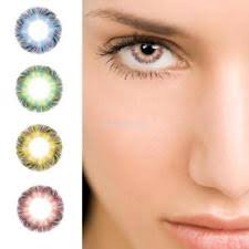 White Halloween Contacts Walmart by Colored Contact Lenses Ebay