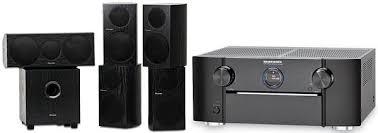 Pioneer Speakers with Marantz SR7005 AVR