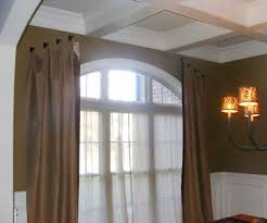 Graber Tension Curtain Rods by Furniture Fabulous Bow Window Curtains Curtain Rod Bow Bay