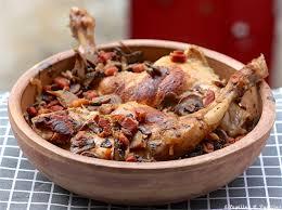 lapin cuisiné lapin au cidre au thym et au romarin