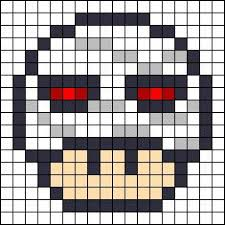 Halloween Perler Bead Templates by Witch Mushroom Halloween Perler Bead Pattern Projects To Try
