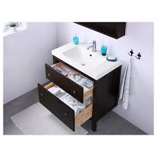 Ikea Hemnes Desk With 2 Drawers by Hemnes Odensvik Sink Cabinet With 2 Drawers White Ikea
