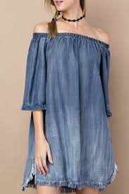 easel distressed denim dress from texas by it u0027s swice u2014 shoptiques