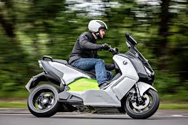 BMW Motorrad The German Automakers Division For Motorcycles Has Revealed Its Latest Creation C Evolution Electric Scooter Is A