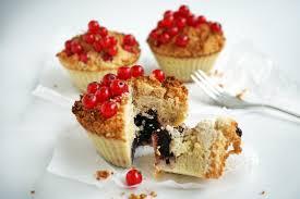 low carb streuselkuchen muffins mit johannisbeeren