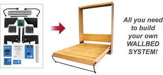 d i y kit do it yourself wallbed kit
