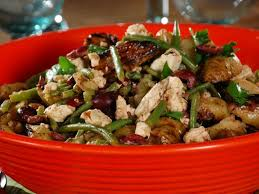 Grilled Fingerling Potato Salad With Feta Green Beans And Olives