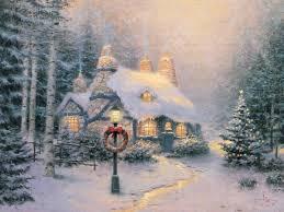 Thomas Kinkade Christmas Tree Teleflora by Stonehearth Hutch The Thomas Kinkade Company