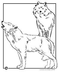 Free Printable Wolf Coloring Pages 09053