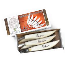 6 knife starter set wood carving tools