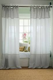 ikea aina linen curtains 250 drop 79 00 pair white grey beige
