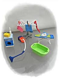 playmobil puppenhaus 4284 schlafzimmer teppich playmobil