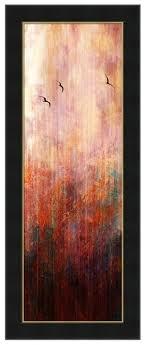 Vertical Format Framed Modern Wall Art Flight Home