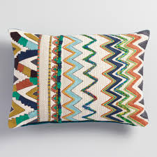 Decorative Lumbar Pillows For Bed by Decorative Throw Pillows Accent Pillows World Market