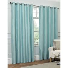 Faux Silk Eyelet Curtains by Faux Silk Eyelet Curtains Duck Egg 66 X 54in At Homebase Co Uk